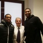 Foto con Allan Ray e Dexter Pittman VIRTUS